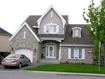 Warm house, Canada Stock Photo