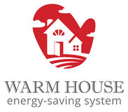 Warm house Stock Photo