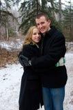 Warm Hug Stock Images