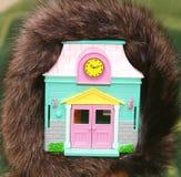 Warm huis Stock Afbeelding