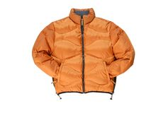 Warm jacket. Warm jacket is on white background Stock Image