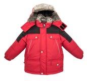 Warm jacket isolated Stock Photography