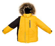 Warm jacket isolated Stock Photography