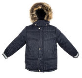 Warm jacket isolated Stock Images
