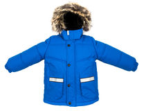 Warm jacket isolated Royalty Free Stock Image