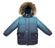 Warm jacket isolated Royalty Free Stock Photos