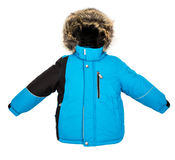 Warm jacket isolated Royalty Free Stock Images