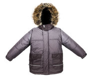 Warm jacket Stock Photo