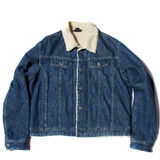 Warm jean jacket Royalty Free Stock Photo