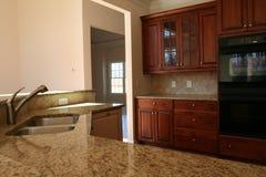 Warm Kitchen. A luxury kitchen Stock Image