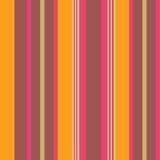 Warm kleuren gestreept behang Stock Afbeelding