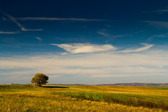Warm landscape in Fagaras Royalty Free Stock Photography