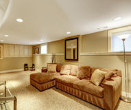 Warm living room interior Stock Photo