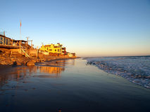 Warm Malibu Sunset Royalty Free Stock Image