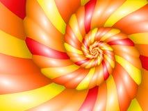 Warm Nautilus Spiral Royalty Free Stock Photos
