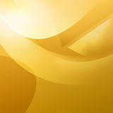 Warm Orange Curves. Orange shapes and swirls with curves for a warm feeling Stock Photo