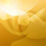 Warm Orange Curves. Orange shapes and swirls with curves for a warm feeling Royalty Free Stock Photos