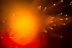 Warm Orange and Red Abstract Background Stock Images