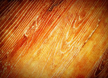 Warm orange wood background Royalty Free Stock Photography