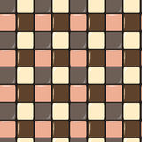Warm pastel abstract floor texture seamless pattern background illustration Stock Photo