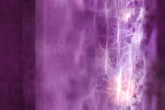 Pink smoke Stock Image