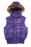 Warm puffer vest Stock Photos