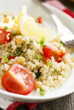 Warm quinoa salad Stock Images