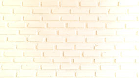 Warm red and white brick wall for texture or background Stock Photography