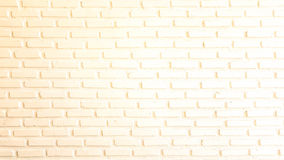 Warm red and white brick wall for texture or background Stock Image