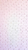 Warm red and white brick wall for texture or background Royalty Free Stock Images