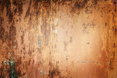 Warm rusty grunge background Stock Image