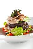 Warm Salad Stock Photo