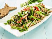 Warm salad Stock Image