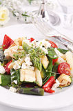 Warm salad with vegetables Royalty Free Stock Image