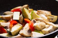 Warm salad Stock Photos