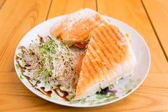 Warm sandwich Stock Photo