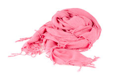 Warm scarf in pink Royalty Free Stock Photography