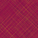 Warm seamless pattern. Random lines. Vibrant colors. Plaid abstract. Stock Photos