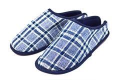 Warm slippers Stock Photos