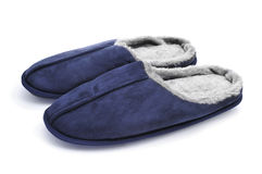 Warm slippers Royalty Free Stock Photos
