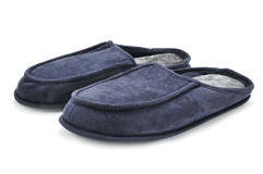 Warm slippers Royalty Free Stock Photography