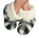 Warm slippers Stock Photography