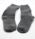 Warm socks Stock Photo