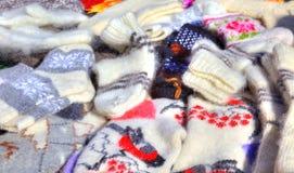 Warm socks Stock Photos