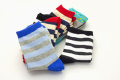 Warm socks Stock Photo