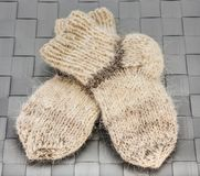 Warm socks Stock Images