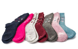 Warm socks Royalty Free Stock Images