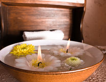 Warm spa Stock Images