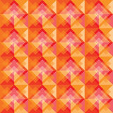 Warm square background pattern Royalty Free Stock Image