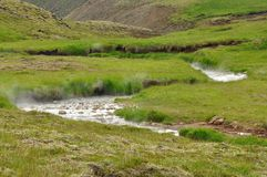 warm stream Stock Images